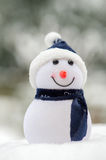 Snowman outdoor Royalty Free Stock Photo