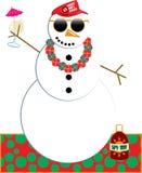 Snowman Party Royalty Free Stock Photos
