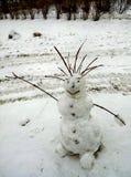 snowman radosny Obraz Stock