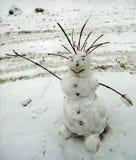 snowman radosny Obrazy Royalty Free