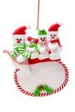 snowman rodziny Zdjęcie Stock