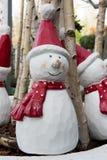 Snowman - Santa Stock Image