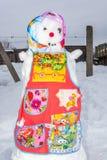 The snowman Stock Photos