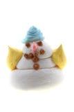 Snowman sugar desert Stock Photography