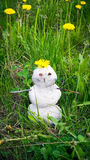 Snowman in the summer Stock Photography