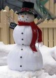 snowman szczęśliwy Zdjęcie Stock