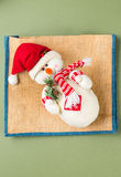 snowman szczęśliwy Obraz Royalty Free