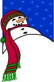 snowman tło Obrazy Stock