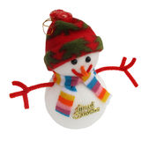 Snowman toy Royalty Free Stock Images