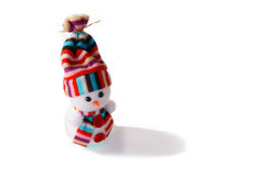 Snowman toy Royalty Free Stock Image