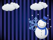 Snowman (vector) Stock Photos