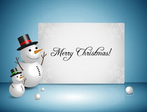 Snowman Vector Design Stock Images