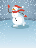 Snowman1 Royalty Free Stock Images