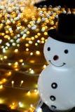 Snowman white royalty free stock photo