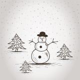 snowman2 royalty ilustracja