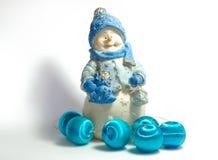 Snowman6 Photo libre de droits