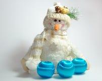 Snowman8 Photos libres de droits