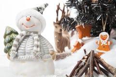 Snowmans世界 免版税库存图片