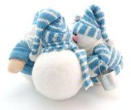 snowmans τρία Στοκ Φωτογραφίες