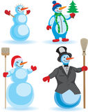 snowmans 免版税库存图片