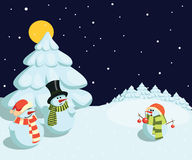 Snowmans Stock Photo