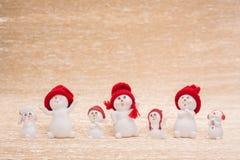 Snowmans Стоковые Изображения RF