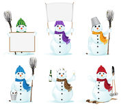Snowmans Royalty Free Stock Images