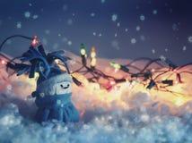 Snowmantoy Arkivbild