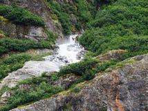 Snowmelt rzeka zdjęcie stock