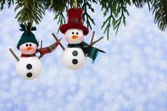 snowmen Royaltyfri Fotografi