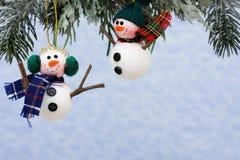 snowmen Arkivbilder