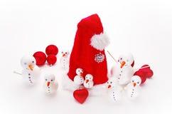 Snowmen Royaltyfri Foto