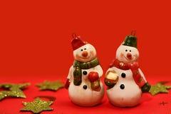 Snowmen Stock Photos