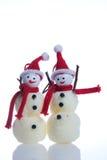 snowmen Arkivfoton