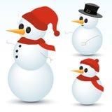 Snowmen Collection Royalty Free Stock Photo
