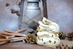 Snowmen Stock Image