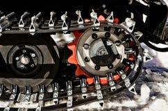 snowmobile гусениц Стоковые Изображения RF