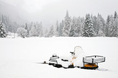 Snowmobile Royalty Free Stock Photo