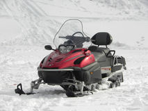 Snowmobile Photo libre de droits