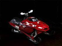 Snowmobile Image stock
