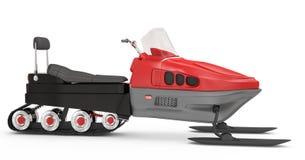 Snowmobile Immagini Stock Libere da Diritti