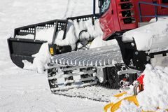 Snowmobile Stock Image