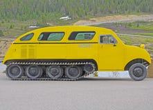 Snowmobile. lizenzfreies stockfoto