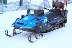 Snowmobile Royaltyfria Bilder