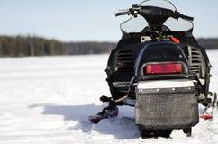 Snowmobile Zdjęcie Stock