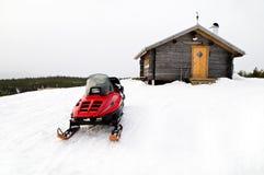 snowmobile Стоковое Изображение