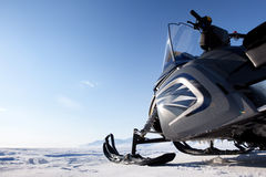 Snowmobile Royalty Free Stock Image