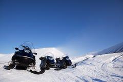 Snowmobile royalty free stock photos
