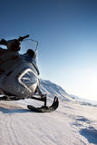 snowmobile Royaltyfria Foton