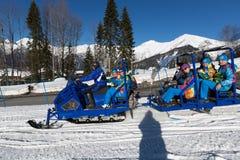 Snowmobile Stock Photos